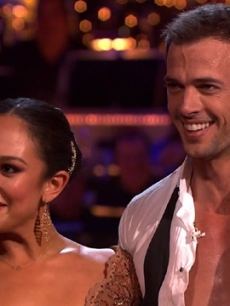 Cheryl Burke and William Levy on &#8216;Dancing,&#8217; April 16, 2012