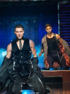Matt Bomer, Channing Tatum, Adam Rodriguez and Joe Manganiello in 'Magic Mike'
