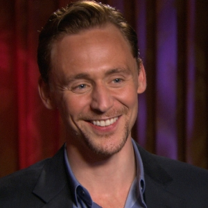 Tom Hiddleston Having Fun On 'The Avengers'