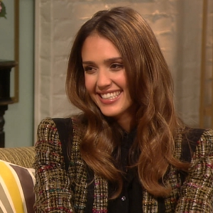Jessica Alba Shares Tips On How To Be An 'Eco-Mama'