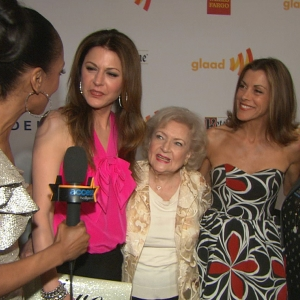 'Hot In Cleveland's' Exciting Night At The 23rd Annual GLAAD Media Awards