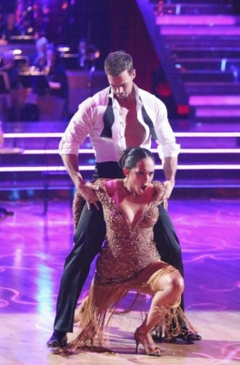William Levy and Cheryl Burke perform the Argentine tango during Week 5 of &#8216;Dancing,&#8217; April 16, 2012