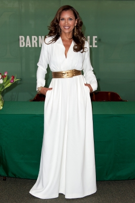 Vanessa Williams promotes her new book, 'You Have No Idea,' at Barnes & Noble Citigroup Center in New York City on April 19, 2012