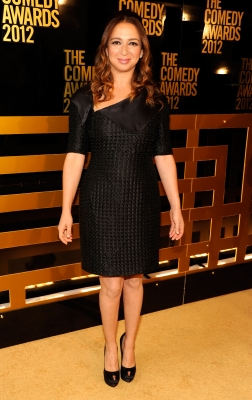 'Up All Night' star Maya Rudolph attends The Comedy Awards 2012 at Hammerstein Ballroom in New York City on April 28, 2012