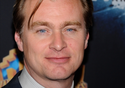 Director Christopher Nolan arrives at a Warner Bros. Pictures presentation to promote his upcoming movie, 'The Dark Knight Rises' at The Colosseum at Caesars Palace during CinemaCon, the official convention of the National Association of Theatre Owners, Las Vegas, April 24, 2012