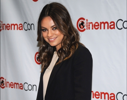 Mila Kunis arrives at CinemaCon 2012 - Walt Disney Studio Motion Pictures event in Las Vegas on April 24, 2012