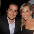 Rich Orosco and Julie Benz attend the American Music Awards after party at The Conga Room at L.A. Live in Los Angeles on November 22, 2010