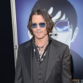 Johnny Depp steps out at the premiere of 'Dark Shadows' at Grauman's Chinese Theatre in Hollywood, Calif. on May 7, 2012