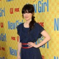 Zooey Deschanel steps out at a special screening 'New Girl' at Leonard H. Goldenson Theatre in North Hollywood, Calif. on May 7, 2012