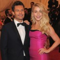 Ryan Seacrest and Julianne Hough step out at the 'Schiaparelli And Prada: Impossible Conversations' Costume Institute Gala at the Metropolitan Museum of Art in New York City on May 7, 2012