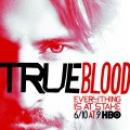 Alcide in the poster promoting 'True Blood' Season 5