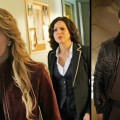 Jennifer Morrison, Lana Parilla and Jamie Dornan in &#8216;Once Upon A Time&#8217;
