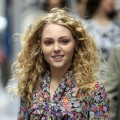 AnnaSophia Robb films 'The Carrie Diaries' a prequel to 'Sex And The City' on the Streets of Manhattan on March 24, 2012
