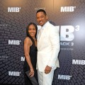 Jada Pinkett Smith and Will Smith attend the 'Men In Black 3' European Premiere at Le Grand Rex in Paris on May 11, 2012