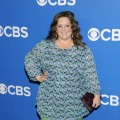 Melissa McCarthy is all smiles at the CBS Upfront 2012 at Lincoln Center in New York City on May 16, 2012