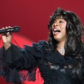 Donna Summer performs at the Nobel Peace Prize Concert at Oslo Spektrum in Oslo, Norway on December 11, 2009