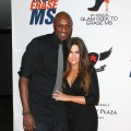 Lamar Odom and Khloe Kardashian attend the 19th Annual Race To Erase MS - &#8216;Glam Rock To Erase MS&#8217; event at the Hyatt Regency Century Plaza in Century City, Calif., on May 18, 2012
