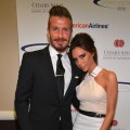 David Beckham and Victoria Beckham arrive at the 27th Anniversary Sports Spectacular benefiting Cedars-Sinai Medical Genetics Institute at the Hyatt Regency Century Plaza in Century City, Calif. on May 20, 2012