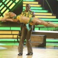 Donald Driver and Peta Murgatroyd perform their freestyle on the 'Dancing with the Stars' finals, May 21, 2012