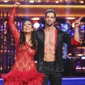 Cheryl Burke and William Levy celebrate after finishing their freestyle on the 'Dancing with the Stars' Season 14 finals, May 21, 2012