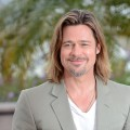 Brad Pitt poses at the 'Killing Them Softly' photocall during the 65th Annual Cannes Film Festival at Palais des Festivals in Cannes, France on May 22, 2012