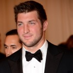 Tim Tebow steps out at the 'Schiaparelli And Prada: Impossible Conversations' Costume Institute Gala at the Metropolitan Museum of Art in New York City on May 7, 2012