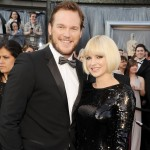 Chris Pratt and Anna Faris arrive at the 84th Annual Academy Awards held at the Hollywood & Highland Center in Hollywood, Calif. on February 26, 2012