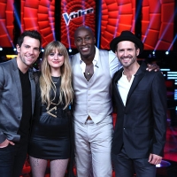 &#8216;The Voice&#8217; Final 4 - Chris Mann, Juliet Simms, Jermaine Paul, Tony Lucca