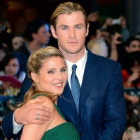 Elsa Pataky and Chris Hemsworth attend Marvel Avengers Assemble European Premiere at Vue Westfield in London on April 19, 2012