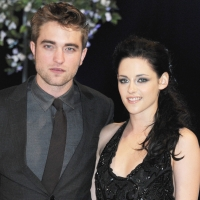 Robert Pattinson and Kristen Stewart attend the UK Premiere of &#8216;The Twilight Saga: Breaking Dawn Part 1&#8217; at Westfield Stratford City in London on November 16, 2011