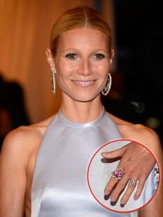 Gwyneth Paltrow's Met gala nails
