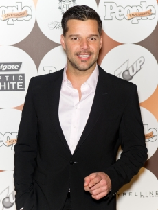 Ricky Martin seen looking dapper at the 16th annual People en Espanol '50 Most Beautiful' issue celebration at The Plaza Hotel in New York City on May 15, 2012