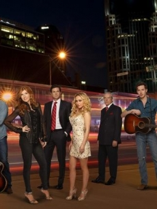 Robert Wisdom as Coleman, Charles Esten as Deacon, Connie Britton as Rayna, Eric Close as Teddy, Hayden Panettiere Juliette, Powers Boothe as Lamar, Sam Palladio as Gunnar, Clare Bowen as Scarlett and Jonathan Jackson as Avery in 'Nashville,' airing Wednesdays at 10 PM on ABC