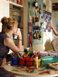Dakota Johnson as Kate and Nat Faxon as Ben in 'Ben and Kate,' airing Tuesdays at 8:30 on FOX in Fall 2012