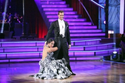 Cheryl Burke and William Levy perform during Week 8 on &#8216;Dancing with the Stars,&#8217; May 7, 2012