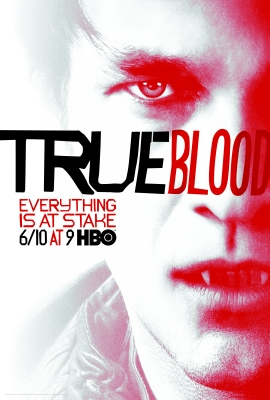 Bill Compton  (Stephen Moyer) in the poster promoting 'True Blood' Season 5