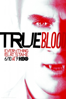 Roman (Christopher Meloni) in the poster promoting 'True Blood' Season 5