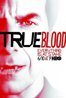 Russell Edgington (Denis O'Hare) in the poster promoting 'True Blood' Season 5