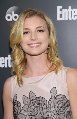 Emily VanCamp attends the Entertainment Weekly &amp; ABC-TV Up Front VIP Party at Dream Downtown, New York City, on May 15, 2012