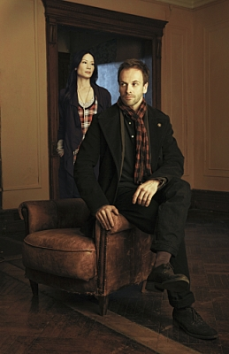 Lucy Liu and Jonny Lee Miller in CBS&#8217; &#8216;Elementary,&#8217; which will air Thursdays at 10 PM in Fall 2012