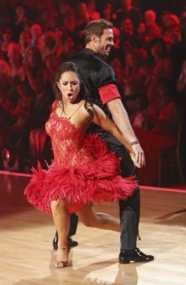 Cheryl Burke and William Levy perform their freestyle on &#8216;Dancing with the Stars,&#8217; May 21, 2012