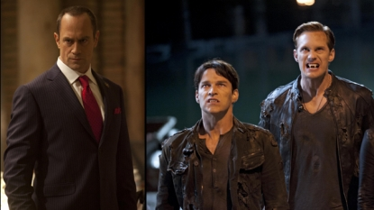 Christopher Meloni, Stephen Moyer, Alexander Skarsgard in 'True Blood' Season 5