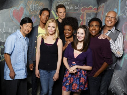 The cast of NBC's 'Community'