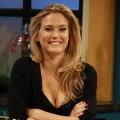 The beautiful Bar Refaeli is all smiles on the set of Access Hollywood Live on May 23, 2012