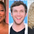 Queen Latifah, Phillip Phillips, Mia Farrow