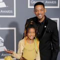 Willow Smith and Will Smith arrive for the 53rd Annual GRAMMY Awards at the Staples Center in Los Angeles on February 13, 2011