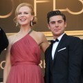 Nicole Kidman and Zac Efron step out at the screening of 'The Paperboy' presented in competition at the 65th Cannes film festival in Cannes, France on May 24, 2012