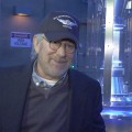 Steven Spielberg Hits Transformers: The Ride-3D Grand Opening At Universal Studios Hollywood