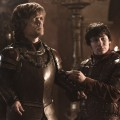 Peter Dinklage as Tyrion Lannister and Daniel Portman as Podrick Payne in HBO's 'Game of Thrones' Season 2