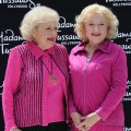 Betty White attends the unveiling of her wax figure at Madame Tussauds Hollywood in Hollywood, Calif. on June 4, 2012 